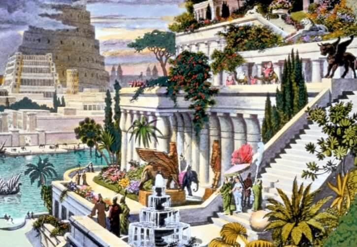 Grădinile Suspendate ale Semiramidei: Iubire și frumusețe legendară
